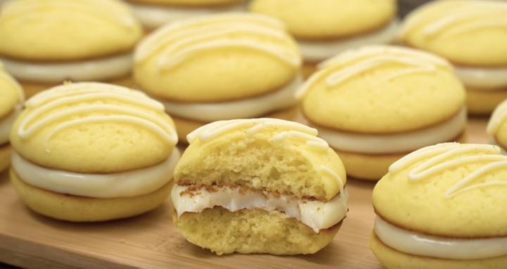Невероятное лимонное пирожное из простейших ингредиентов