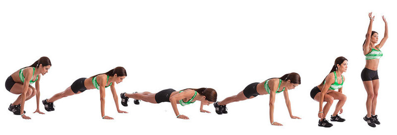 3 упражнения для сжигания жира